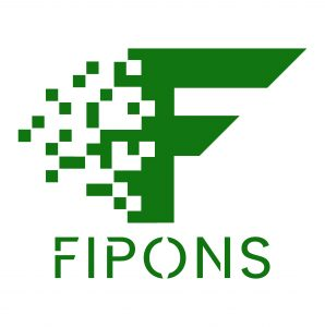 Fipons logo animation made by our animation studio in Mumbai