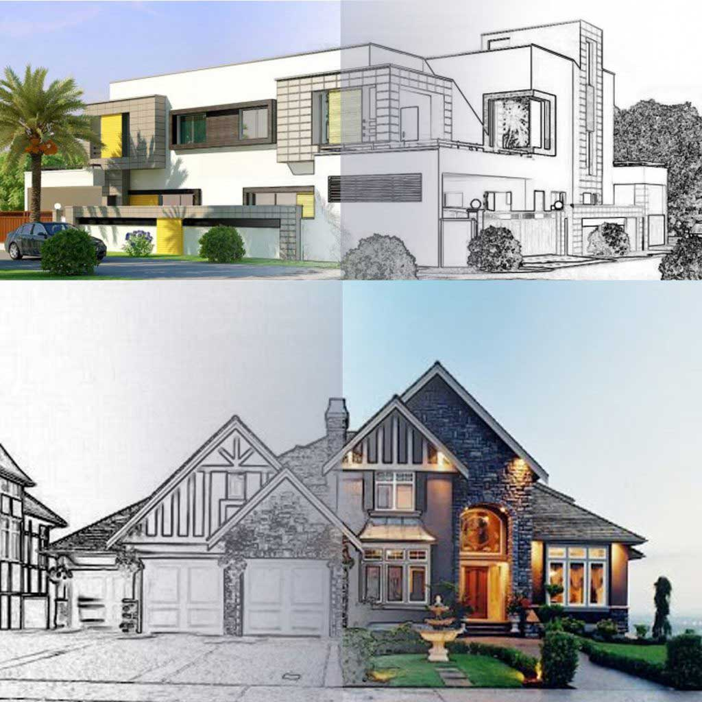 Feature Image for 3D Architectural rendering services provide by Dream Engine Animation Studio