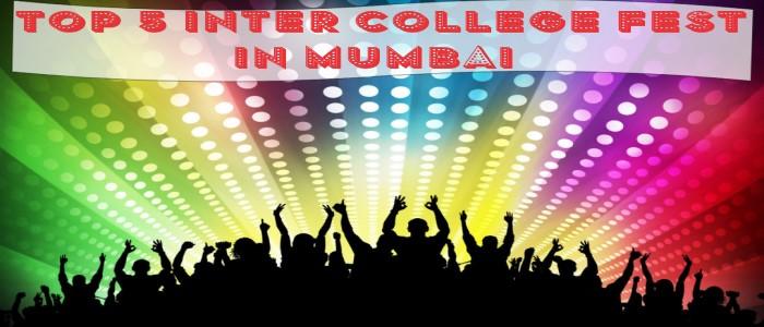 top 5 inter college fest in mumbai
