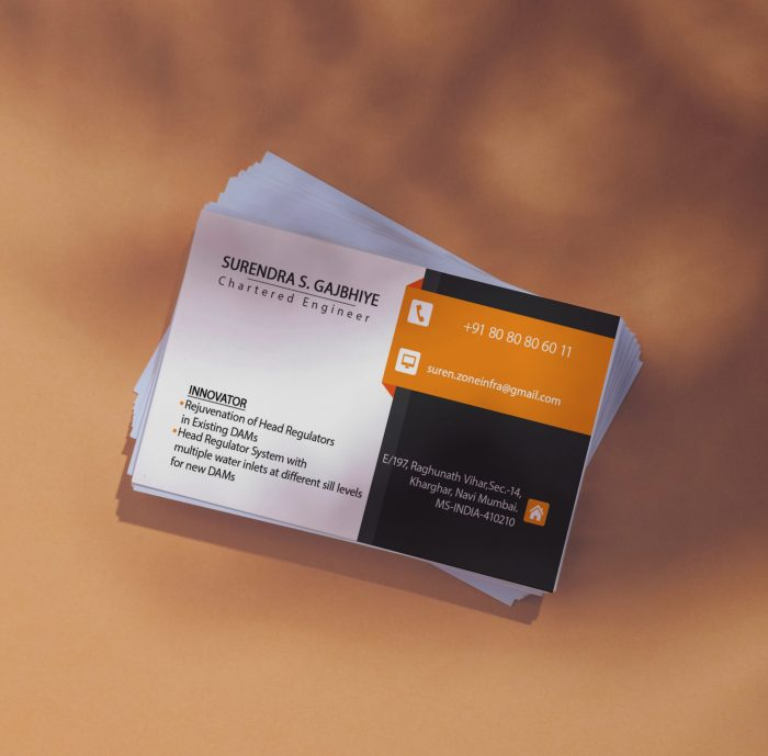 business stationery printing services give by Dream engine animation studio