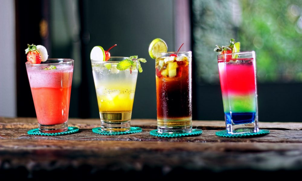 mocktails photography by our animation studio in mumbai